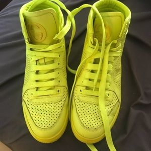 Gucci Shoes | Gucci Neon Green Sneakers
